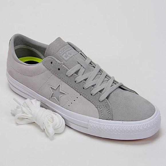 Converse Lunarlon Skateboarding Grey